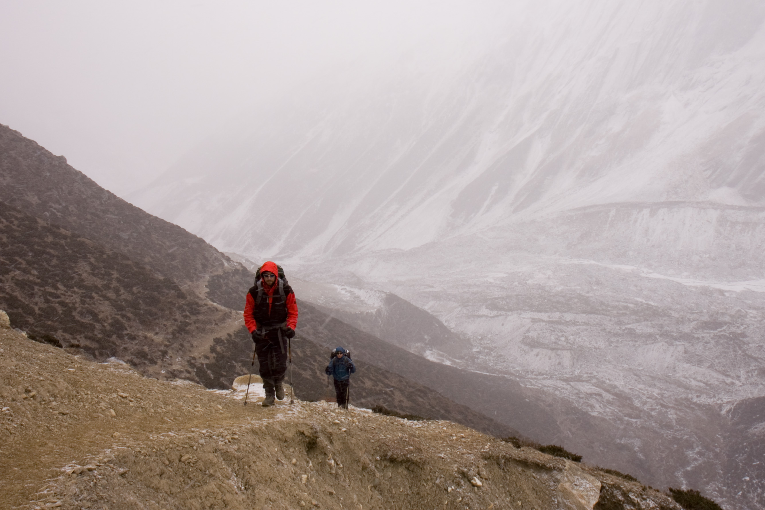 Manaslu Circuit Trek On the way to Dharmashala by Petr Meissner