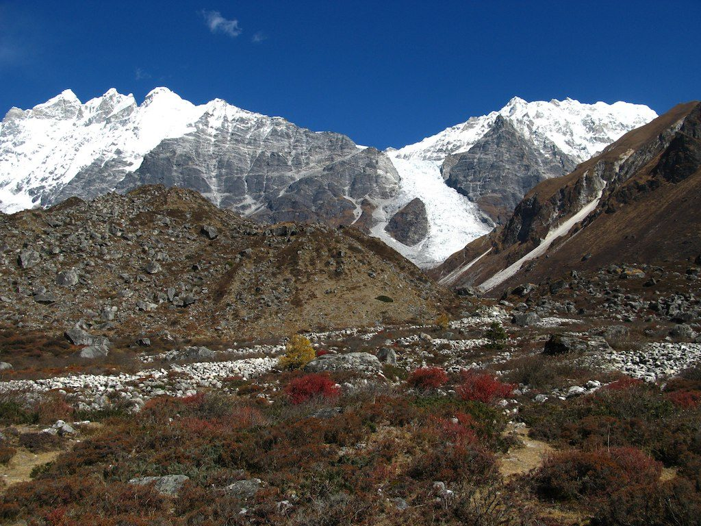 Langtang Lirung by Scott Mattoon