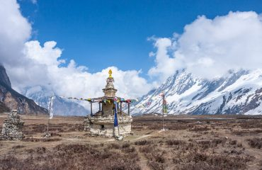 Stupa along the Manaslu Circuit trek