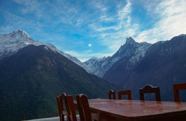Breakfast in the Himalaya