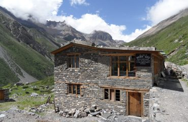 Mountain lodge in Manang