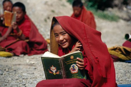 Monk student by Mountain People