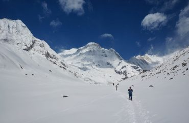 Way to Annapurna Base Camp